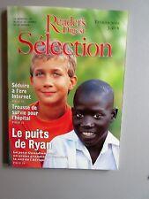 """Selection Reader's Digest Magazine Février 2001 Francais  Neuf """"Le Puits de Ryan"""