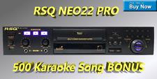 NEW RSQ Neo 22 Pro Karaoke Player Digital USB MP3G Karaoke Machine CDG Recording