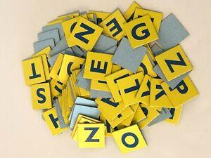 Scrabble Jr Junior Board Game Replacement Parts Pieces Letter Tiles Scoring Chip