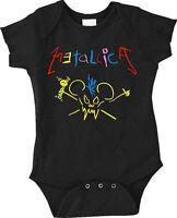 New Metallica Crayon Scary Guy Baby Romper One Piece 6-24 Months badhabitmerch