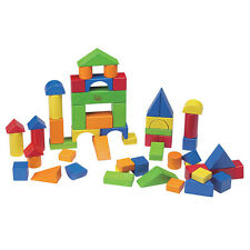 Wooden Block Set (colour) 54 Pieces 20416 Educational Toys
