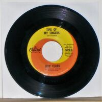 ROY CLARK - Tips Of My Fingers / Spooky Movies - 45 RPM Record Single