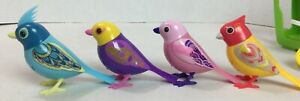 Lot of Digibirds and DigiOwls Playset Whistles 14 pcs Childrens TESTED  #20H