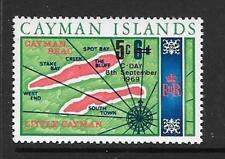 CAYMAN ISLANDS SG243 1969 5c ON 6d DECIMAL CURRENCY  MNH