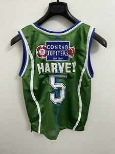 NBL Jersey Gold Coast Rollers AFL Jersey orginal size XXS - Harvey #5 NBA JERSEY