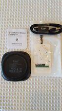 iLuv Qi Fast Wireless Charging Pad for Apple & Samsung w/ Accessories. Iad8X10Bk