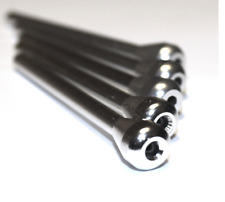 5 Pack Silver Snorting Straw Small Metal for Snort Snuff Sniffer Snorter Co
