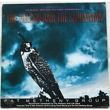 PAT METHENY - The falcon and the snowman - LP VINILE OST 1985 NM/VG+ PUNZONATO