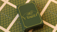 Limited Edition The Expert at the Card Table (Green.White) Playing Cards