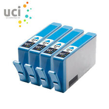 4 Cyan HP 364XL UCI® Ink Cartridge fit for Photosmart 6510 7510 7520 b110a