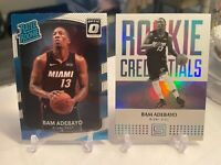 2017-18 Donruss Optic #187 Bam Adebayo Rated Rookie + Rookie Credentials #20