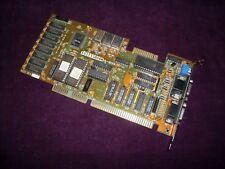 16 Bit ISA OAK Technology OTiVGA 037C 256Kb Hercules CGA EGA VGA video card