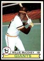 1979 Topps (Njs4) Willie McCovey San Francisco Giants #215