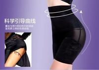 UK Ladies Plus Size Seamless Firm Tummy Control Body Shaper Mid Thigh Pants New