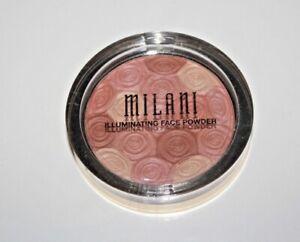 Milani Illuminating Face Powder #02 Hermosa Rose Sealed + BRUSH