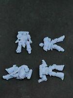 Primaris casualties for Warhammer 40K space marines GREY x4
