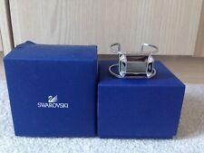 Swarovski Segment Bracelet Cuff With Jet Hematite & Crystals, RRP £130