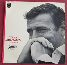 YVES MONTAND    LP ORIG FR  MONO  A L'ETOILE