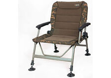 Fox NEW Carp Fishing Camo Recliner Standard Arm Chair R2 - CBC061