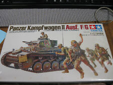 TAMIYA, PANSER KAMPFWAGEN II AUSF. F/G #3509