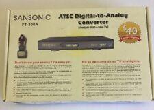 Sansonic FT-300A ATSC Digital To Analog Converter Box