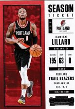 Damian Lillard  2017-18 Panini Contenders Basketball Sammelkarte, #36