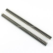 10Pcs 2.54mm Pitch 2x40 Pin 80 Pin Male Double Row SMT SMD Pin Header Strip
