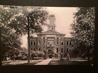 Crandon WI Court House Vintage Kodak RPPC Real Photo Wisconsin Postcard B7