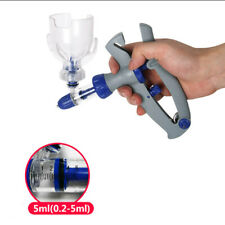 5ml Pet Poultry Livestock Injector Automatic Self Refill Re Usable Syringe