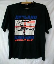 Vintage t-shirt England World Cup France 1998.