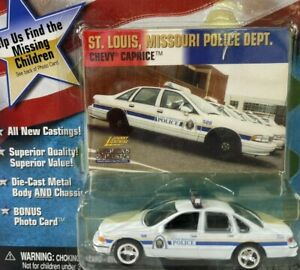 Johnny Lightning America's Finest St. Louis, MO Police Chevy Caprice~Sealed 1:64