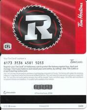 *NEW*TO DAY 2019-OTTAWA REDBLACKS-Tim Hortons Tim Gift Card-CFL-FD # FD-66658