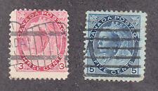Canada - 1898-99 - SC 78-79 - Used