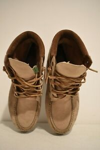 Timberland Moccasin Tan / Suede Boots Women's Size 8 M