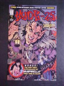 HYDE-25 #0! FIRST APP VAMPIRELLA IN COLOR IN COMICS! NM- 1995 HARRIS COMICS