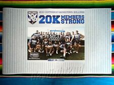 ✺New✺ 2016 CANTERBURY BULLDOGS NRL Members Poster - 100cm x 59.5cm
