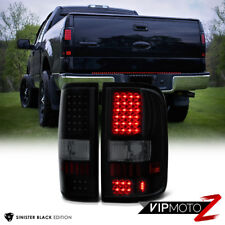 "2004-2008 Ford F150 Lobo ""SINISTER BLACK"" SMD LED Rear Tail Lights Lamp Assembly"