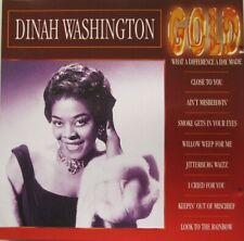 DINAH WASHINGTON  - GOLD  - CD