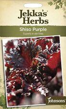 Johnsons - Jekka's Herbs - Pictorial Pack - Shiso Purple - 175 Seeds