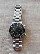 Oris Divers Watch 1000m Model 7609 - Automatic Black bezel/Orange Markers