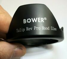 Bower 52mm Shade Lens Hood Tulip Rev Pro