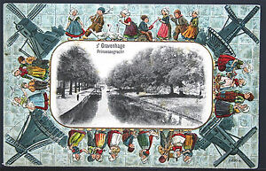 Netherlands - Fancy Windmill Border - s' Gravenhage Prinsessegracht   SRP81