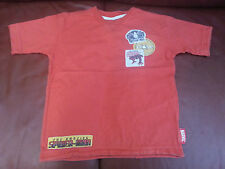 Next Boys T-Shirt Red Amazing Spiderman Age 4 Years Cotton