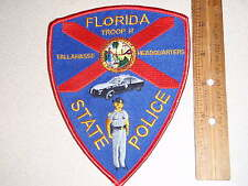 FLORIDA STATE POLICE TROOP H TALLAHASSEE  HEADQUARTERS PATCH