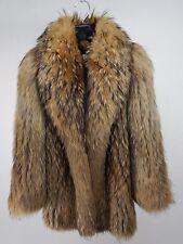 Vtg. Hudson's  Arpin Roaring 1920's Style  Tanuki Raccoon Coat Made in Canada