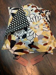 NWT 2 MISSONI ITALY Pillow Covers Tessuto ... GORGEOUS