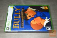 Bully Scholarship Edition (Xbox 360 2008) FACTORY SEALED! - RARE!