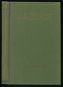 Book AESTHETIC DANCING by Emil Rath 1928 Revised Edition A. S. Barnes