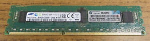 HP Samsung 1Rx4 8GB PC3-12800R DDR3-1600 240-Pin ECC Reg Memory 664691-001