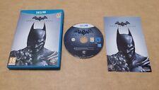 Batman: Arkham Origins (Nintendo Wii U) versión europea PAL